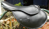 TRAIN SADDLE GENUINE LEATHER