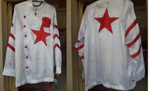 jockey costumes = White Star