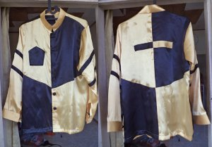 jockey costumes Yellow Black Block