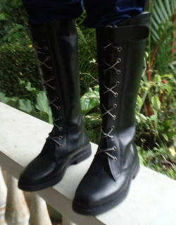 Riding Boot Full Lace