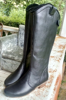 Girl Riding boot