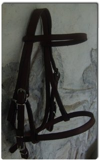 Head Bridle Genuine Cow Leather