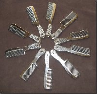 Sisir Logam Stainless Comb